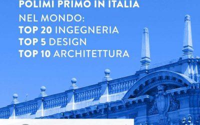 Politecnico di Milano – отново най-добър университет в Италия